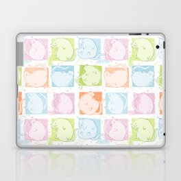 Cat Blobs Laptop & iPad Skin