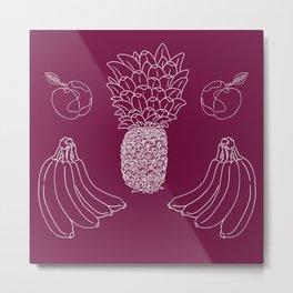 Tropical fruits #3 Metal Print