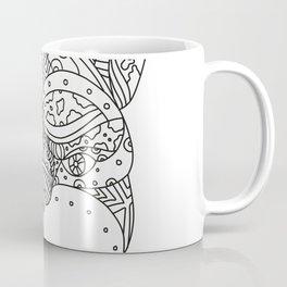 French Bulldog Doodle Art Coffee Mug