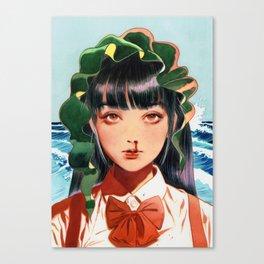 WAKAME001 Canvas Print