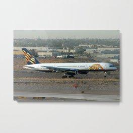 American Trans Air (ATA) 757-200 Metal Print