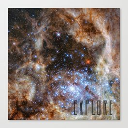 Explore - Space and the Universe Canvas Print