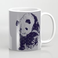 brand new Mugs featuring New Brand Panda by Tobe Fonseca