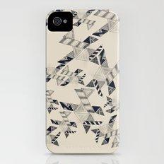 B&W Aztec pattern illustration iPhone (4, 4s) Slim Case