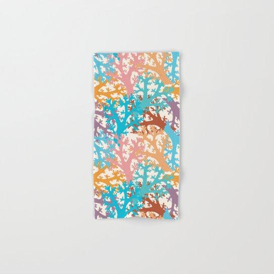 Pastel Marine Pattern 05 Hand & Bath Towel