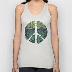 Peaceful Landscape Unisex Tank Top