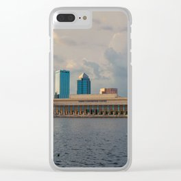 Tampa Town Clear iPhone Case