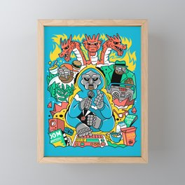 MF DOOM & Friends Framed Mini Art Print