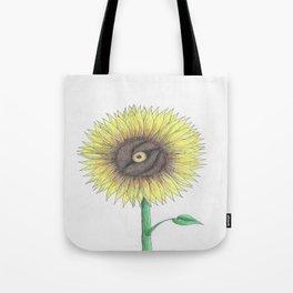 Seeing Sunflowers Tote Bag