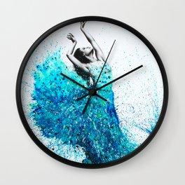 Tropical Reef Dance Wall Clock