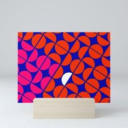 30  degree semi-circles Mini Art Print