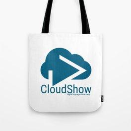 CloudShow (blue logo) Tote Bag