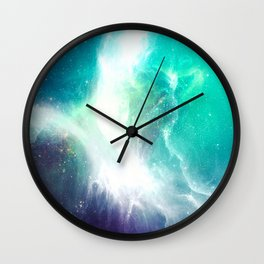 Wave to Heaven Wall Clock