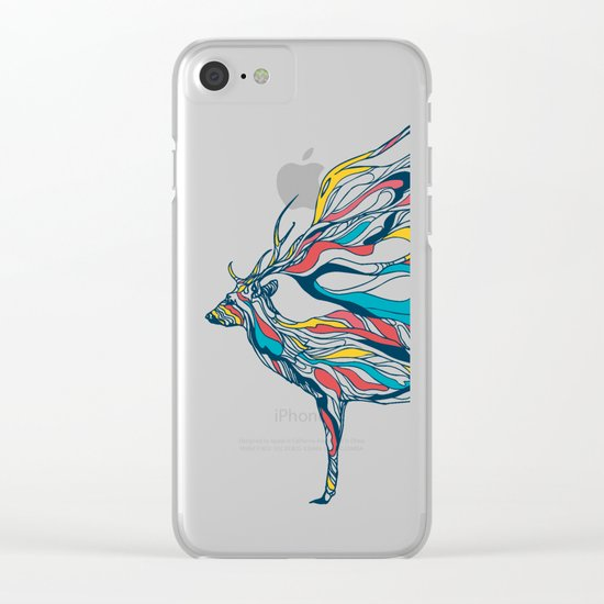 Hold Me Down Clear iPhone Case