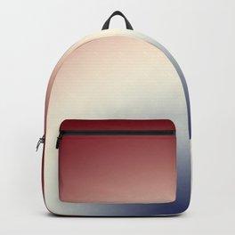 Radical Red White Blue Backpack