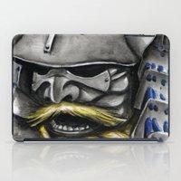 samurai iPad Cases featuring Samurai by rchaem