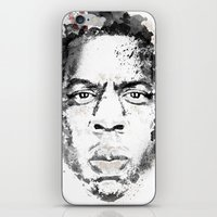jay z iPhone & iPod Skins featuring Jay Z by I AM DIMITRI