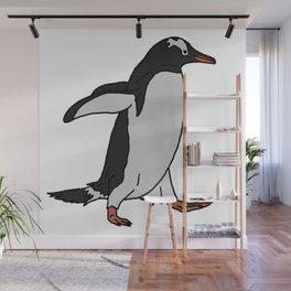 Gentoo Penguin Wall Mural