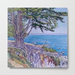 Monterey Bay Cypress Metal Print