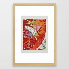 A.P. Framed Art Print