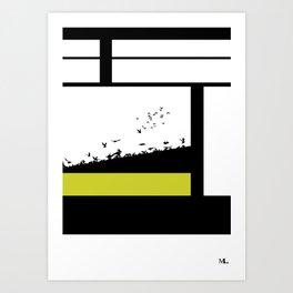 The Get Away Art Print