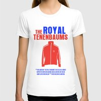 tenenbaums T-shirts featuring The Royal Tenenbaums Movie Poster by FunnyFaceArt
