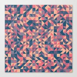 Triangles III Canvas Print