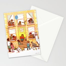Neighborhood Read Aloud Stationery Cards