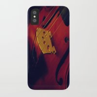 violin iPhone & iPod Cases featuring Violin by KimberosePhotography