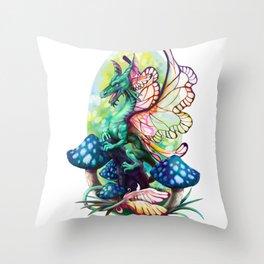 Fairy Noodle Throw Pillow