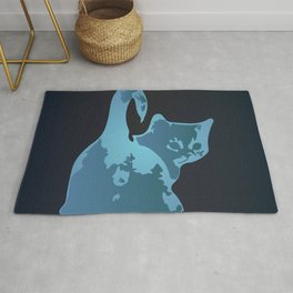 Cat Blues Rug