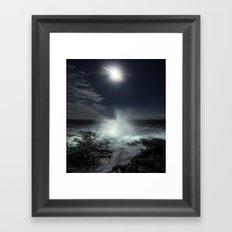 Risen Moonlight Framed Art Print