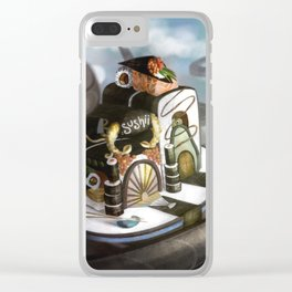 Floating Sushi Clear iPhone Case