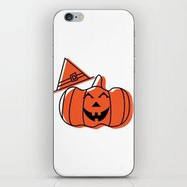 Silly Pumpkin iPhone Skin