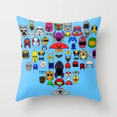 Headgear V2 Throw Pillow