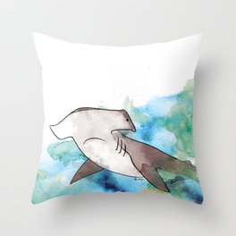hammerhead Throw Pillow