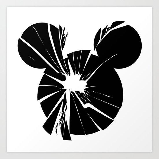 Mickey Is Dead No.1 Art Print