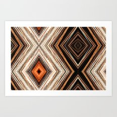 Light Patterns Art Print