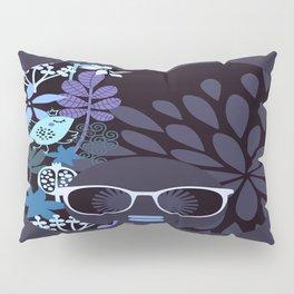 Afro Diva : Lavender Periwinkle Pillow Sham