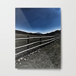 Darkness Visible - Mt. Sopris - Glenwood Springs, CO Metal Print