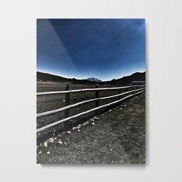 Darkness Visible - Mt. Sopris - Glenwood Springs, CO Metal Print