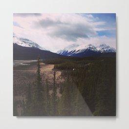From Banff to Jasper Metal Print