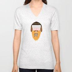 Bear Beard Unisex V-Neck