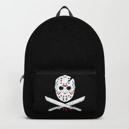Jason mask Backpack