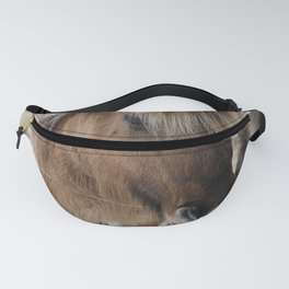snowy Icelandic horse Fanny Pack