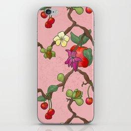 Cherries and Vine iPhone Skin
