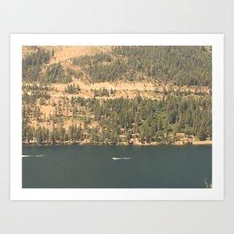 land TEST Art Print