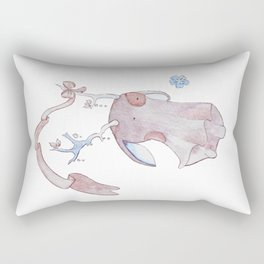 Jackalope Blobbily Spirit Rectangular Pillow