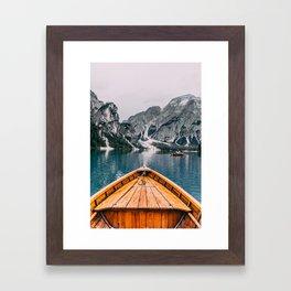 Lago Adventure Framed Art Print