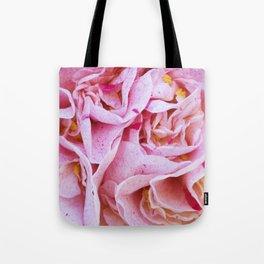 Strawberry Blonde Camellia Tote Bag